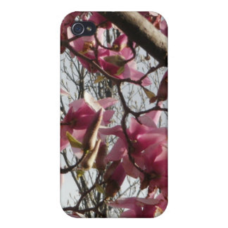 Pink Blossoms iPhone 4 Cover