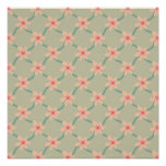 Pink Blossoms, pattern print Poster