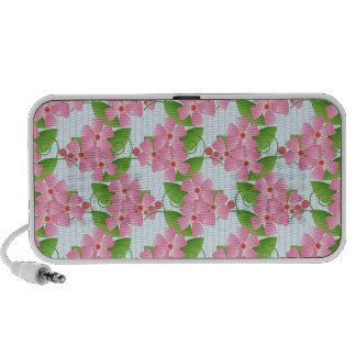 Pink Blossoms Travelling Speakers