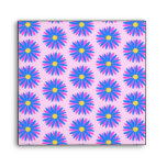 Pink, Blue and Yellow Flower Pattern. Envelopes