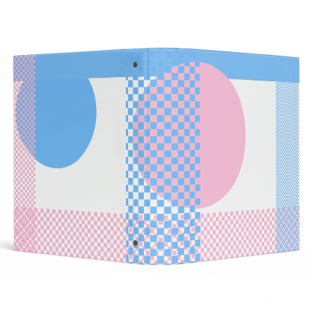 Pink & Blue Binders