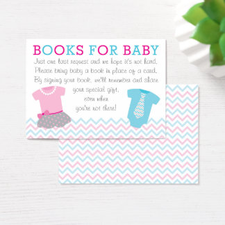 Pink & Blue Book Request Cards