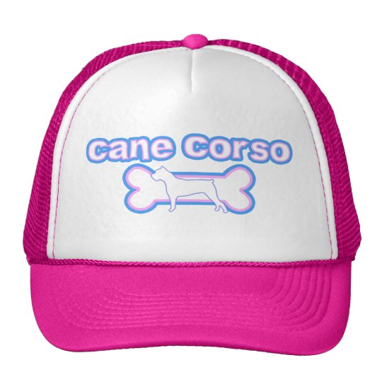Pink & Blue Cane Corso Trucker Hat