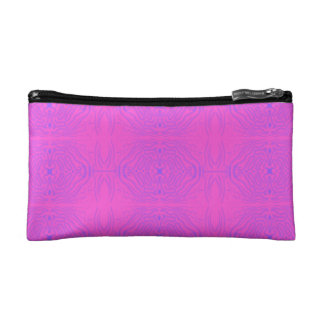 Pink & Blue Cosmetic Bag