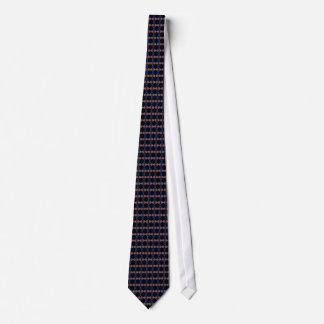 Pink & Blue Dots Tie