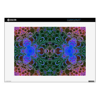 Pink Blue Green Abstract Laptop Skin