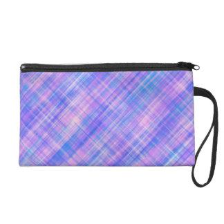 Pink Blue Green Purple Lines Bagettes Bag