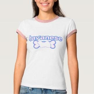 Pink & Blue Havanese T Shirt