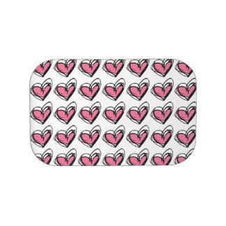 Pink/Blue Heart Lunchbox Faceplates