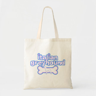 Pink & Blue Italian Greyhound Bag