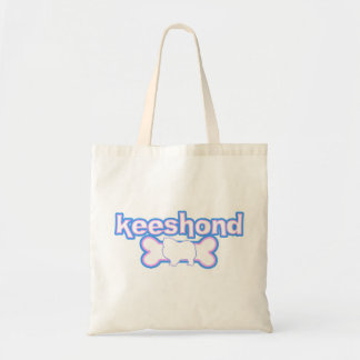 Pink & Blue Keeshond Bag