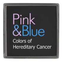 Pink & Blue Lapel Pin