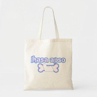 Pink & Blue Lhasa Apso Bag