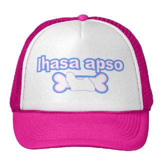 Pink & Blue Lhasa Apso Hat