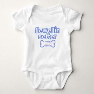 Pink & Blue Llewellin Setter Baby Creeper
