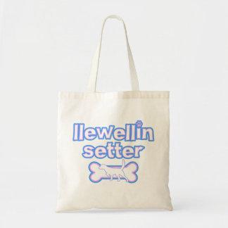 Pink & Blue Llewellin Setter Bag