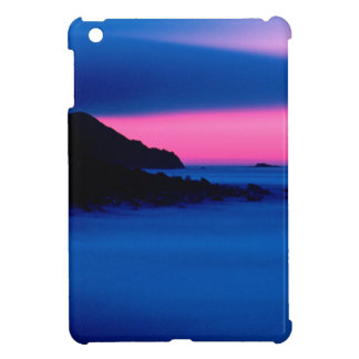 Pink / Blue Ocean Sunset Landscape iPad Mini Cases