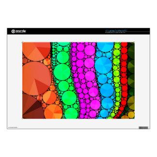 Pink Blue Orange Bling Pattern Skins For Laptops