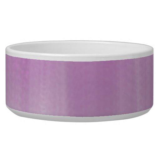 Pink Blue Pet Food Bowl