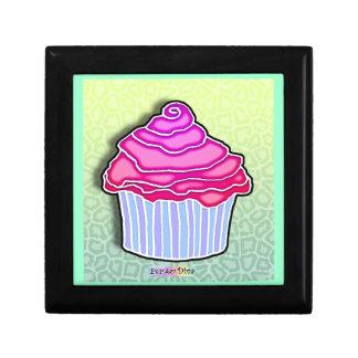 Pink & Blue Pop Art Cupcake Gift Box