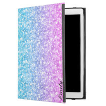 Pink Blue & Purple Glitter iPad Pro Case