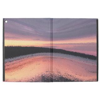 Pink Blue Purple Sunset Ocean Wave iPad Pro Case
