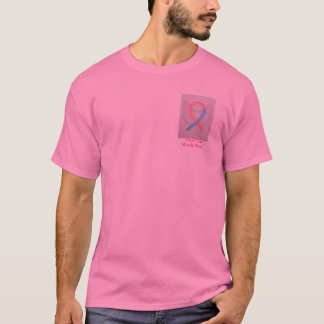 Pink & Blue Ribbon Angel Cause Awareness shirts