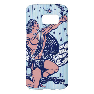 Pink & Blue Sagittarius Astrological Sign Samsung Galaxy S7 Case