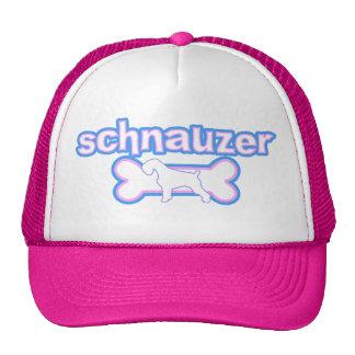 Pink & Blue Schnauzer Hat