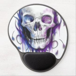 Pink & Blue Skull Mouse Pad Gel Mouse Mats