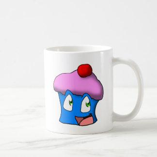 Pink/Blue Toon Cupcake Coffee Mug