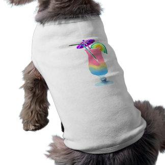 Pink & Blue Tropical Drink T-Shirt