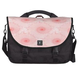 Pink Blush Nautilus Abstract Computer Bag