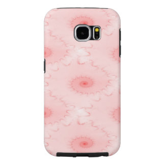 Pink Blush Nautilus Abstract Samsung Galaxy S6 Case