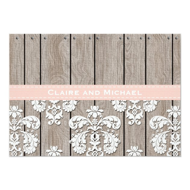 Paper Lace Wedding Invitations with nice invitations design