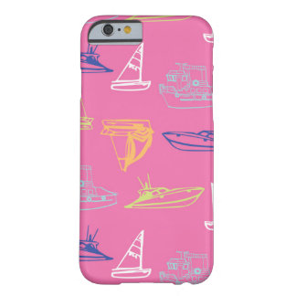 Pink Boats Barely There iPhone 6 Case