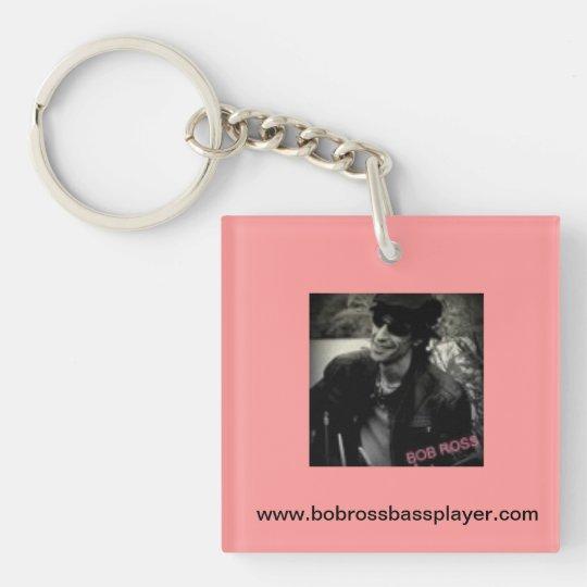 Pink Bob Ross Keychain! Keychain