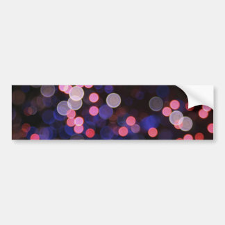 Pink bokeh texture bumper stickers