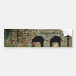 Pink Boles let into the walls for Bee Skips, Packw Bumper Sticker