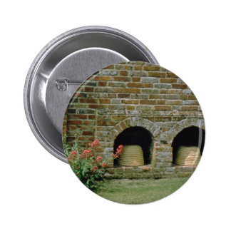 Pink Boles let into the walls for Bee Skips, Packw Pins