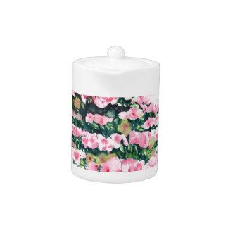 Pink Bonsai Teapot