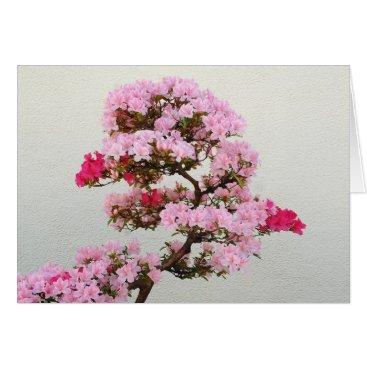 celestesheffey Pink Bonsai Tree Card