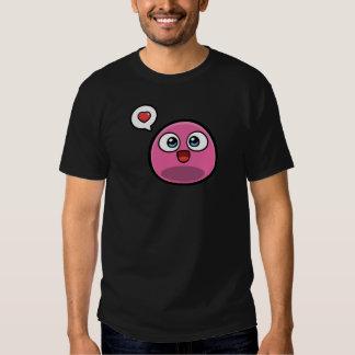 Pink Boo Men Dark T-Shirt