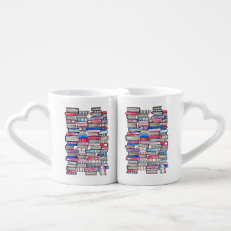 Pink Books Lover's Mugs