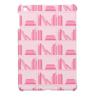 Pink Books on Shelf Case For The iPad Mini