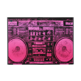 Pink boombox cases for iPad mini