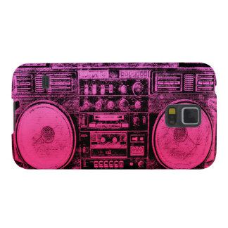 pink boombox galaxy s5 cases