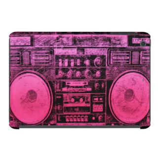pink boombox iPad mini cases