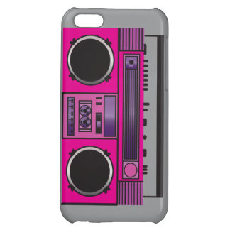 Pink Boombox iPhone 5C Cover