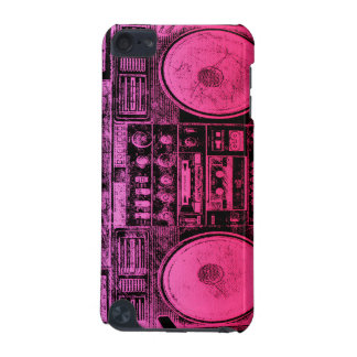 pink boombox iPod touch (5th generation) covers